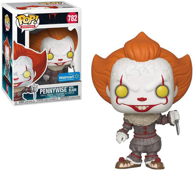 Pop Movies 3.75 Inch Action Figure IT - Pennywise with Blade #782 Exclusive