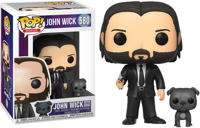 Pop Movies 3.75 Inch Action Figure John Wick - John Wick With Dog #580