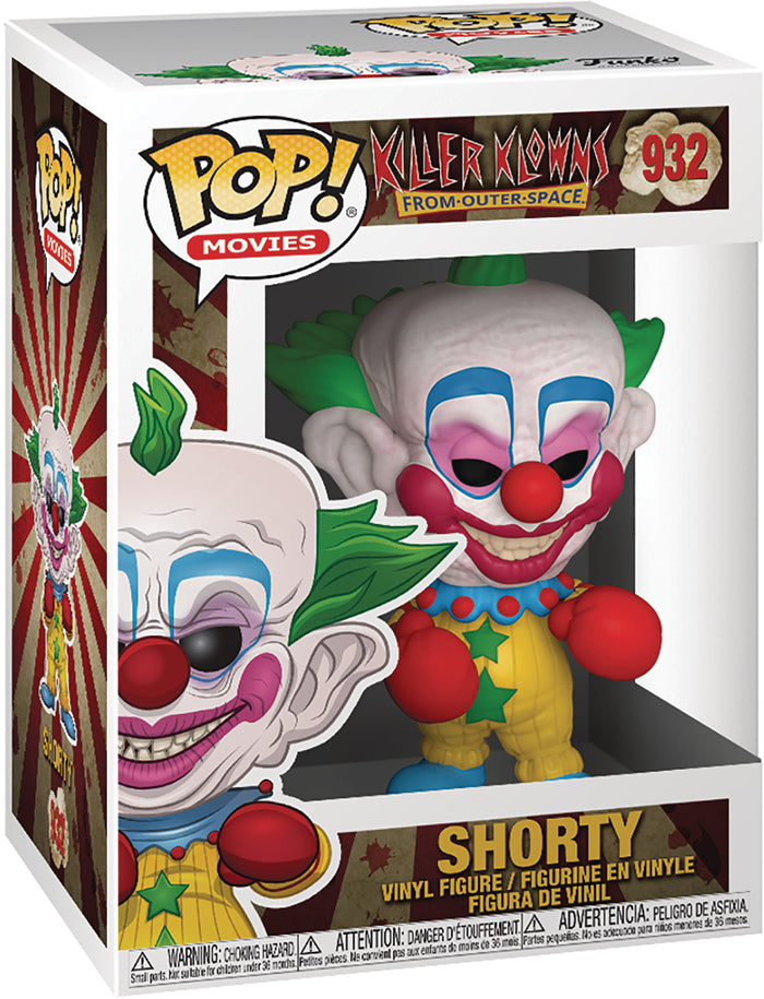 Pop Movies Killer Klowns From Outer Space 3.75 Inch Action Figure - Shorty #932
