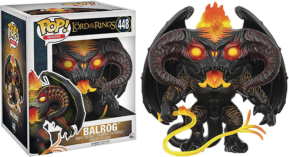Pop Movies 6 Inch Action Figure Lord Of The Rings - Balrog #448