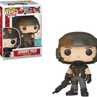 Pop Movies 3.75 Inch Action Figure Starship Troopers - Johnny Rico Muddy #735 Exclusive