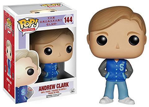 Pop Movies 3.75 Inch Action Figure The Breakfast Club - Andrew Clark #144