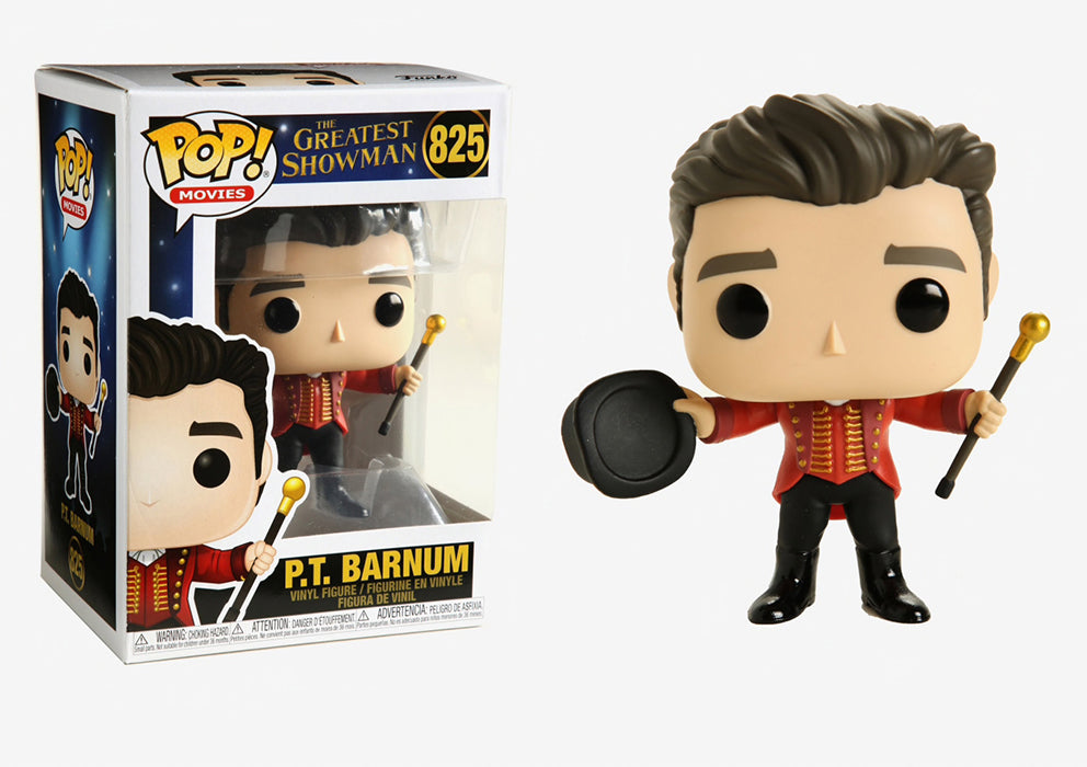Pop Movies The Greatest Showman 3.75 Inch Action Figure - P.T. Barnum #825