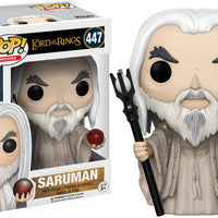 Pop Movies 3.75 Inch Action Figure The Lord Of The Rings - Saruman #447