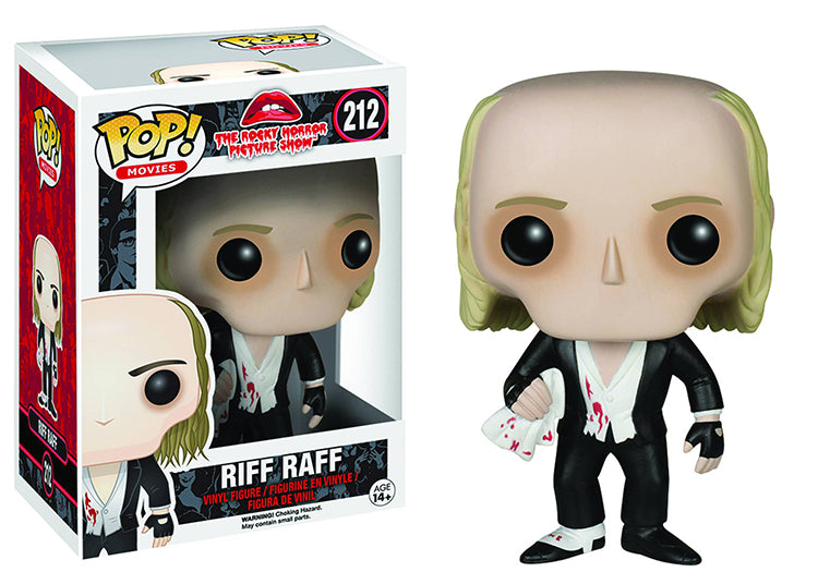 Pop Movies 3.75 Inch Action Figure The Rocky Horror Picture Show - Riff Raff #212