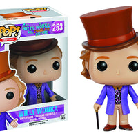 Pop Movies 3.75 Inch Action Figure Willy Wonka - Willy Wonka #253
