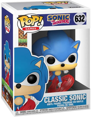Pop Retro Toys Sonic The Hedgehog 3.75 Inch Action Figure - Classic Sonic