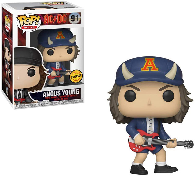 Pop Rocks 3.75 Inch Action Figure AC DC - Angus Young #91 Chase
