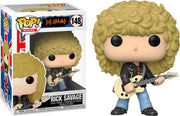 Pop Rocks 3.75 Inch Action Figure Def Leppard - Rick Savage #148
