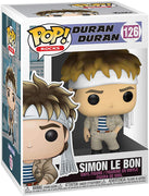 Pop Rocks 3.75 Inch Action Figure Duran Duran - Simon Le Bon #126