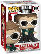Pop Rocks Lewis Capaldi 3.75 Inch Action Figure - Lewis Capaldi #197