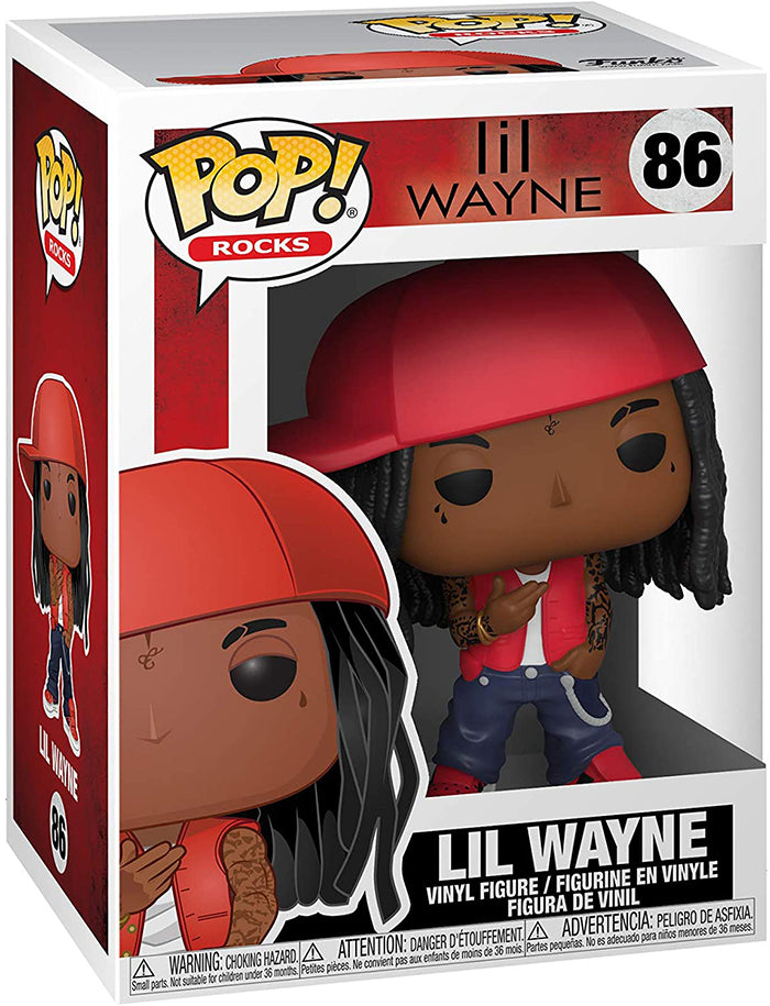 Pop Rocks Lil Wayne 3.75 Inch Action Figure - Lil Wayne #86