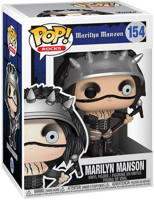 Pop Rocks 3.75 Inch Action Figure Marilyn Manson - Marilyn Manson #154