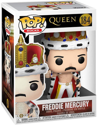Pop Rocks Queen 3.75 Inch Action Figure - Freddie Mercury #184