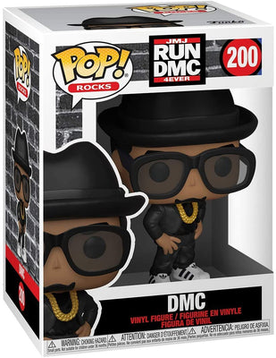 Pop Rocks Run DMC 3.75 Inch Action Figure - DMC #200