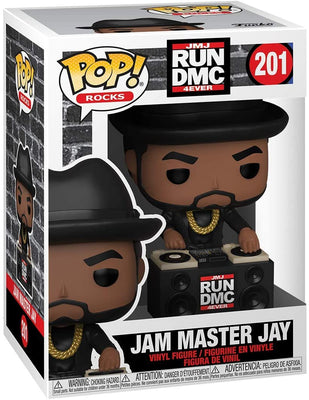 Pop Rocks Run DMC 3.75 Inch Action Figure - Jam Master Jay #201