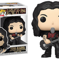 Pop Rocks Slayer 3.75 Inch Action Figure - Tom Araya #156
