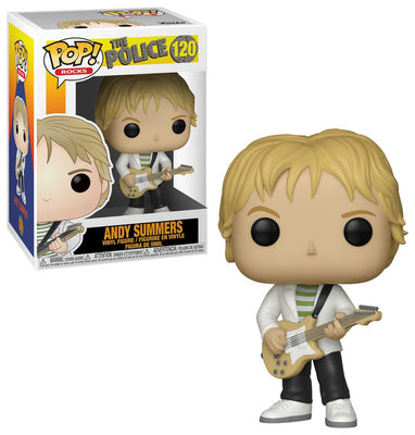 Pop Rocks 3.75 Inch Action Figure The Police - Andy Summers #120