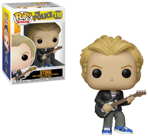 Pop Rocks 3.75 Inch Action Figure The Police - Sting #118