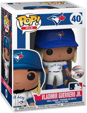 Pop Sports MLB Baseball 3.75 Inch Action Figure - Vladimor Guerrero Jr.