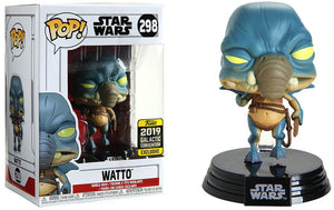 Pop Star Wars 3.75 Inch Action Figure - Watto #298 Exclusive