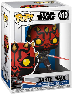 Pop Star Wars Clone Wars 3.75 Inch Action Figure - Darth Maul #410