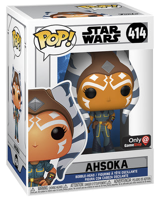 Pop Star Wars Clone Wars 3.75 Inch Action Figure Exclusive - Ahsoka #414