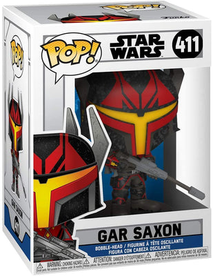 Pop Star Wars Clone Wars 3.75 Inch Action Figure - Gar Saxon #411