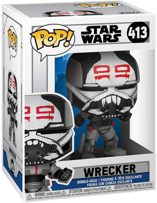Pop Star Wars Clone Wars 3.75 Inch Action Figure - Wrecker #413