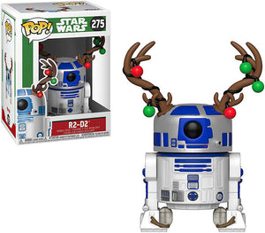 Pop Star Wars 3.75 Inch Action Figure Holiday - Antlers R2-D2 #275