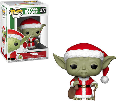 Pop Star Wars 3.75 Inch Action Figure Holiday - Santa Yoda #277