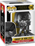 Pop Star Wars 3.75 Inch Action Figure Rise Of Skywalker - Knight Of Ren War Club #332