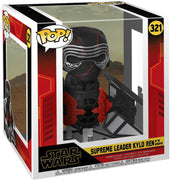 Pop Star Wars 3.75 Inch Action Figure Star Wars Rise Of Skywalker - Supreme Leader Kylo Ren In The Whisper #321