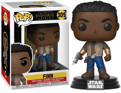 Pop Star Wars Rise Of Skywalker 3.75 Inch Action Figure - Finn #309