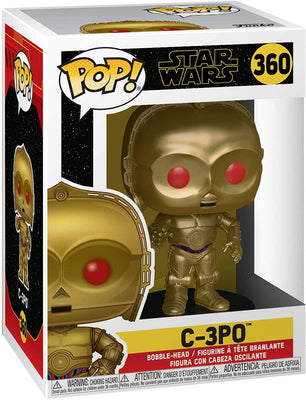 Pop Star Wars 3.75 Inch Action Figure Star Wars - C-3PO #360