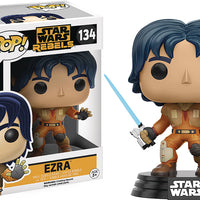 Pop Star Wars Star Wars Rebels 3.75 Inch Action Figure - Ezra #134