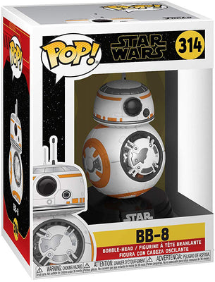 Pop Star Wars 3.75 Inch Action Figure Star Wars Rise Of Skywalker - BB-8 #314