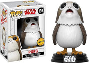 Pop Star Wars 3.75 Inch Action Figure Star Wars The Last Jedi - Porg #198 Chase
