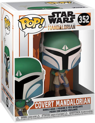Pop Star Wars 3.75 Inch Action Figure The Mandalorian - Covert Mandalorian #352