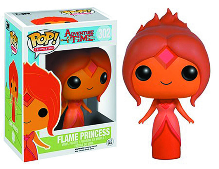 Pop Television 3.75 Inch Action Figure Adventure Time - Flame Princess #302