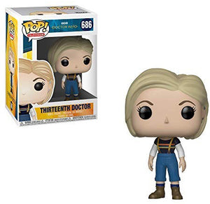 Pop Television 3.75 Inch Action Figure Doctor Who - Thirteenth Doctor #686