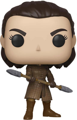 Pop Television 3.75 Inch Action Figure Game Of Thrones - Arya with Two Headed Spear