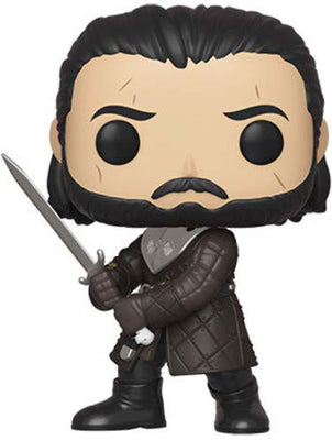 Pop Television 3.75 Inch Action Figure Game Of Thrones - Jon Snow Season 8 #80