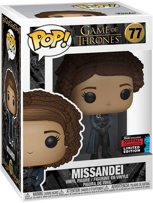 Pop Television 3.75 Inch Action Figure Game Of Thrones - Missandei #77 Exclusive