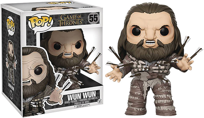 Pop Television 6 Inch Action Figure Game Of Thrones - Wun Wun #55