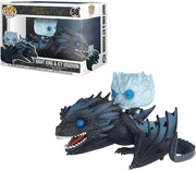Pop Television Game Of Thrones 3.75 Inch Action Figure - Night King & Icy Viserion #58