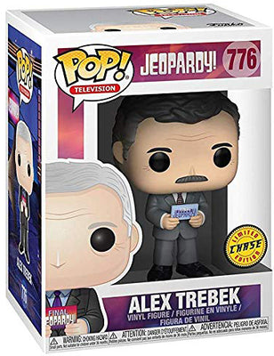 Pop Television 3.75 Inch Action Figure Jeopardy - Alex Trebek #776 Chase