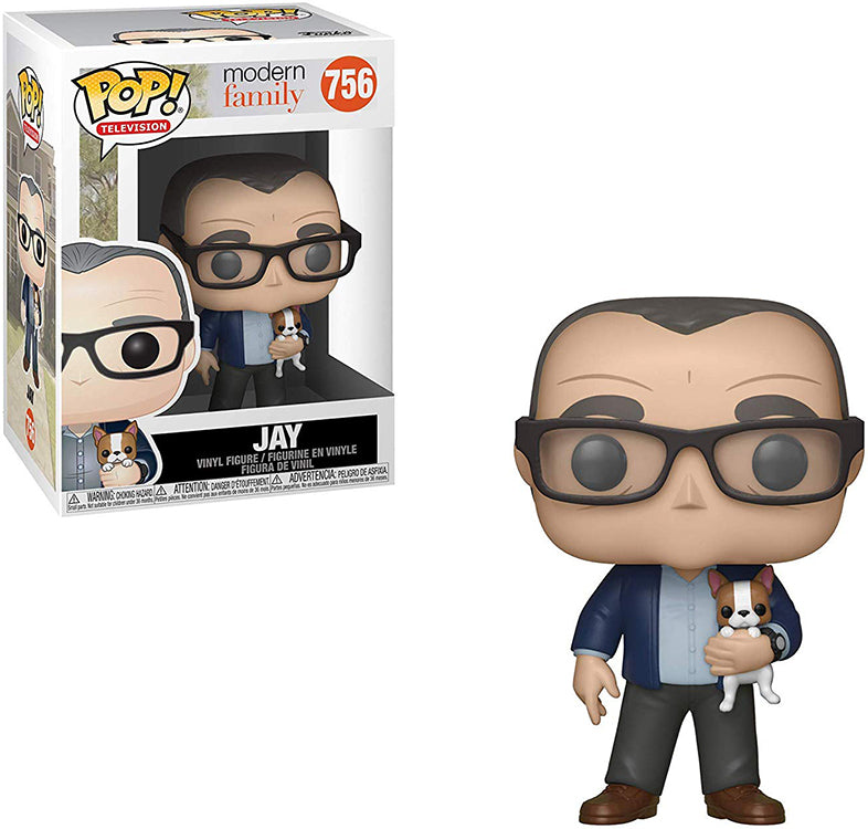 Pop Television 3.75 Inch Action Figure Modern Family - Jay #756