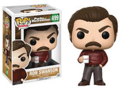 Pop Television 3.75 Inch Action Figure Park and Recreation - Ron Swanson #499