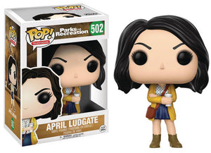 Pop Television 3.75 Inch Action Figure Parks and Recreation - April Ludgate #502